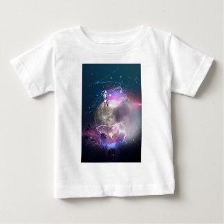 Astronaut die Super Nova berijden Baby T Shirts