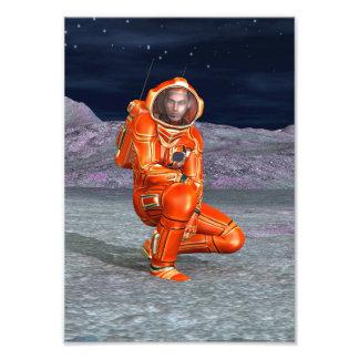 Astronaut Foto Kunst