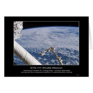 Astronaut Franklin R. Chang-Diaz Kosmische ruimte Briefkaarten 0