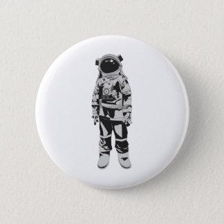 Astronaut Ronde Button 5,7 Cm