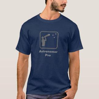 Astronoom Pro (Grijs Logo) T Shirt