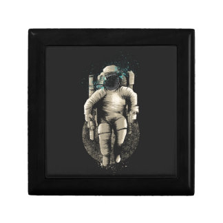 Astronout Vierkant Opbergdoosje Small