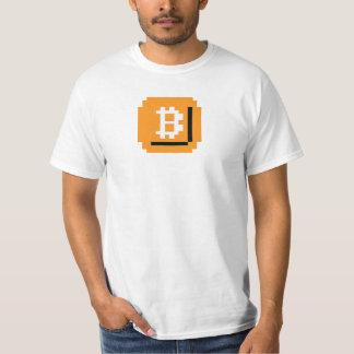 At het Blok van Bitcoin van het Beetje (LQ T Shirt