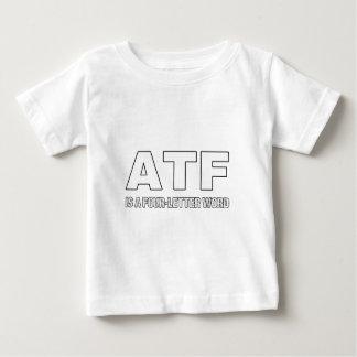 ATF is een Woord van Vier Brief Baby T Shirts