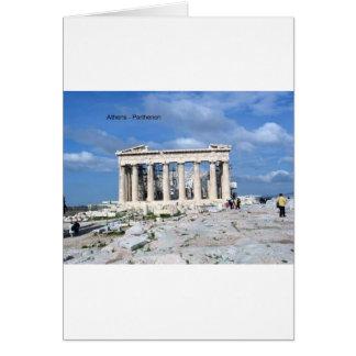 Athene Parthenon Briefkaarten 0
