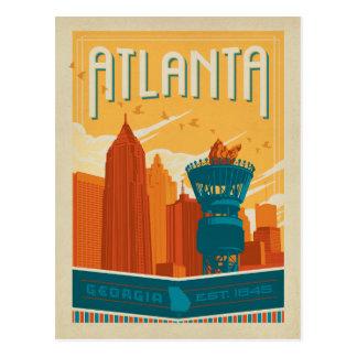 Atlanta, GA - EST. 1845 Briefkaart
