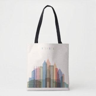 Atlanta, Georgië | Horizon van de Stad Draagtas