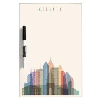 Atlanta, Georgië | Horizon van de Stad Whiteboard