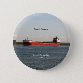 Atlantische Superieure knoop Ronde Button 5,7 Cm