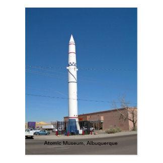 Atoom Museum, Albuquerque New Mexico Briefkaart