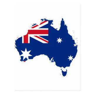 Au van Australië Briefkaart