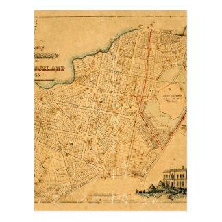 Auckland 1863 briefkaart