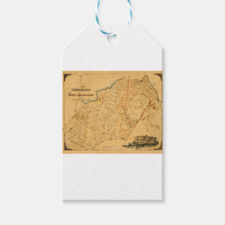 Auckland 1863 cadeaulabel