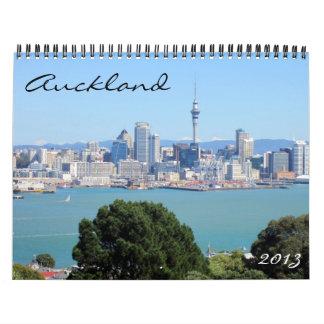 Auckland 2013 kalender