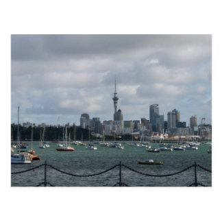 Auckland, Nieuw Zeeland Briefkaart