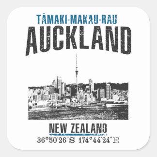 Auckland Vierkante Sticker