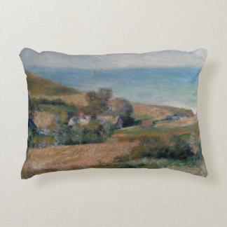 Auguste Renoir - Uitzicht van de Zeekust Accent Kussen