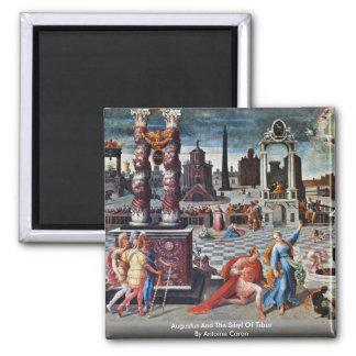 Augustus en de Sibille van Tibur door Antoine Magneet