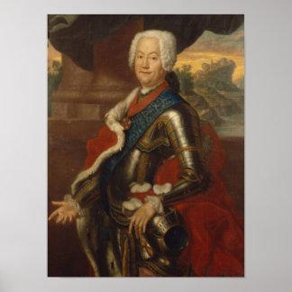 Augustus Louis, Prins van anhalt-Kothen Poster