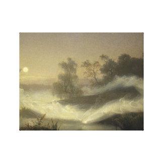 Augustus Malmstrom - Dansende Feeën Canvas Print