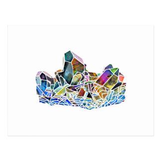 Aura van de Regenboog van de Kunst van het Kristal Briefkaart