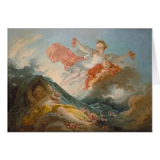 Aurore door Jean-Honore Fragonard Briefkaarten 0
