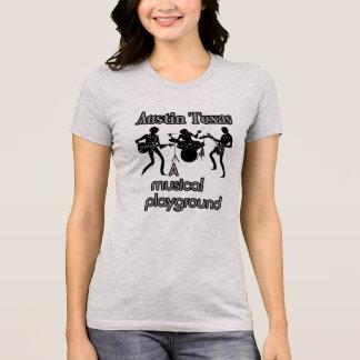 Austin Texas --Het muzikale Overhemd van het T Shirt