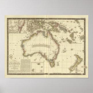 Australië 8 poster