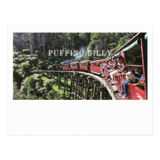 Australië die Billy Postcard puffen Briefkaart