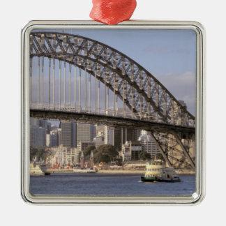 Australië, Nieuw Zuid-Wales, Sydney, Sydney Zilverkleurig Vierkant Ornament
