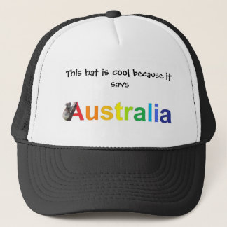 Australië Trucker Pet