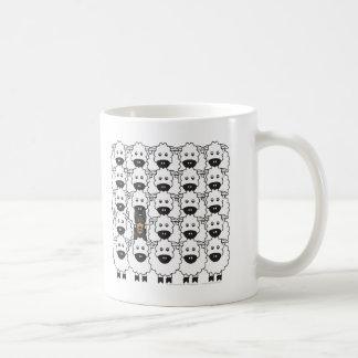 Australische Kelpie bij de Schapen Koffiemok