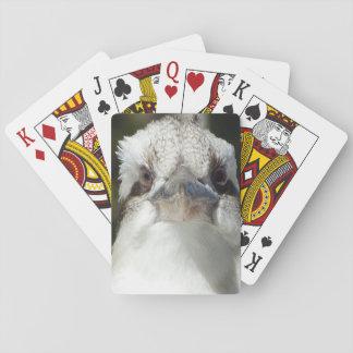 Australische Kookaburra Pokerkaarten
