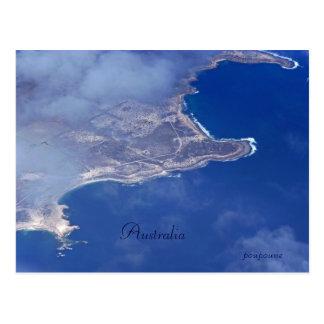 Australische kust briefkaart