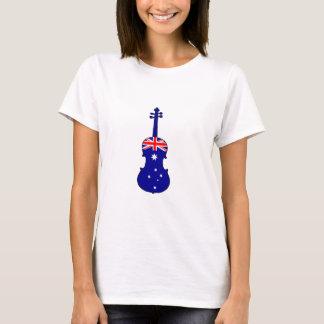 Australische Vlag - Altviool T Shirt