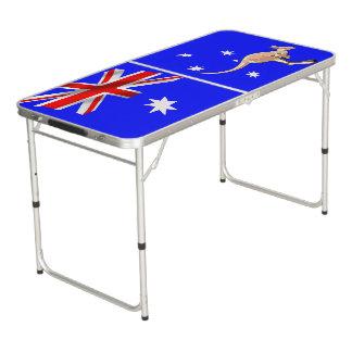 Australische vlag beer pong tafel