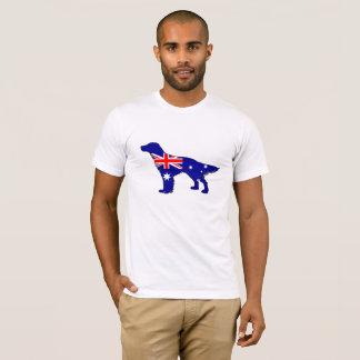 Australische Vlag - Engelse Zetter T Shirt