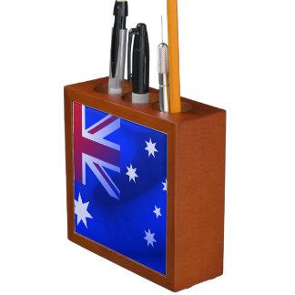 Australische vlag pennenhouder