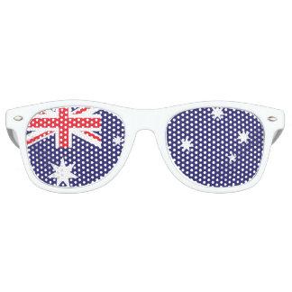 Australische Vlag Retro Zonnebril