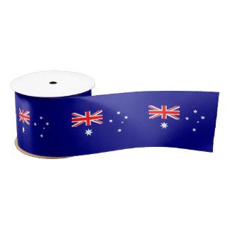 Australische vlag satijnen lint