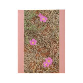Australische Wildflowers Houten Poster
