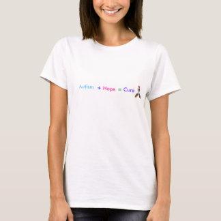 Autisme +Hoop = Behandeling T Shirt