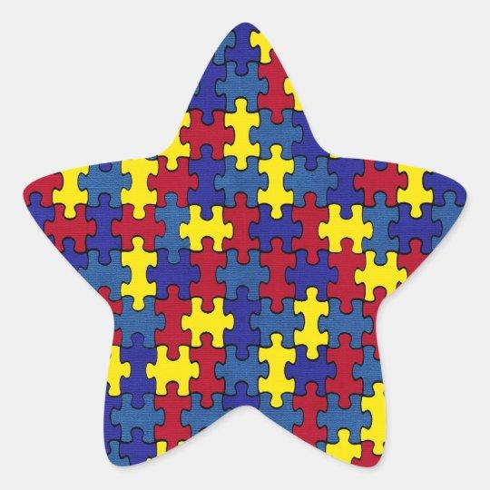 Autisme Ster Sticker