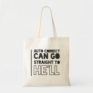 Auto Correct Canvas tas FUNNY/HUMOUR