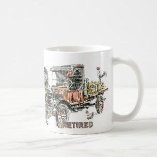 Auto: Dilapidated Voertuigen Koffiemok