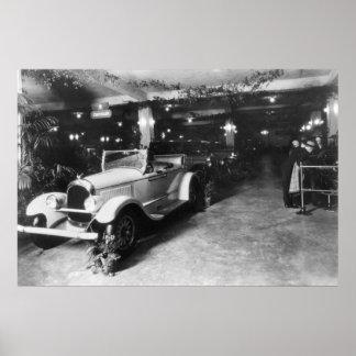 Auto toon, 1920 poster