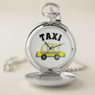 Auto van de Cabine van de Taxi van de Stad NYC van Zakhorloge
