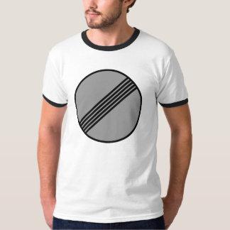 Autobahn Geen T-shirt van de Maximum snelheid