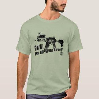 Automatisch Pistool IDF Galil T Shirt