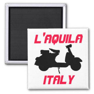 Autoped, L'Aquila, Italië Magneet